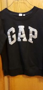 GAP Black Sweatshirt Size XS